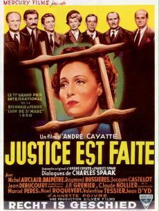《刑事法庭》海报