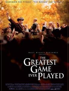 《那些最伟大的比赛》电影海报